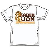Fate/tiger colosseum UPPER セイバーライオンごはん中Tシャツ ホワイト サイズ:L
