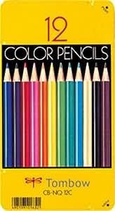 トンボ鉛筆 色鉛筆 NQ 12色 CB-NQ12C