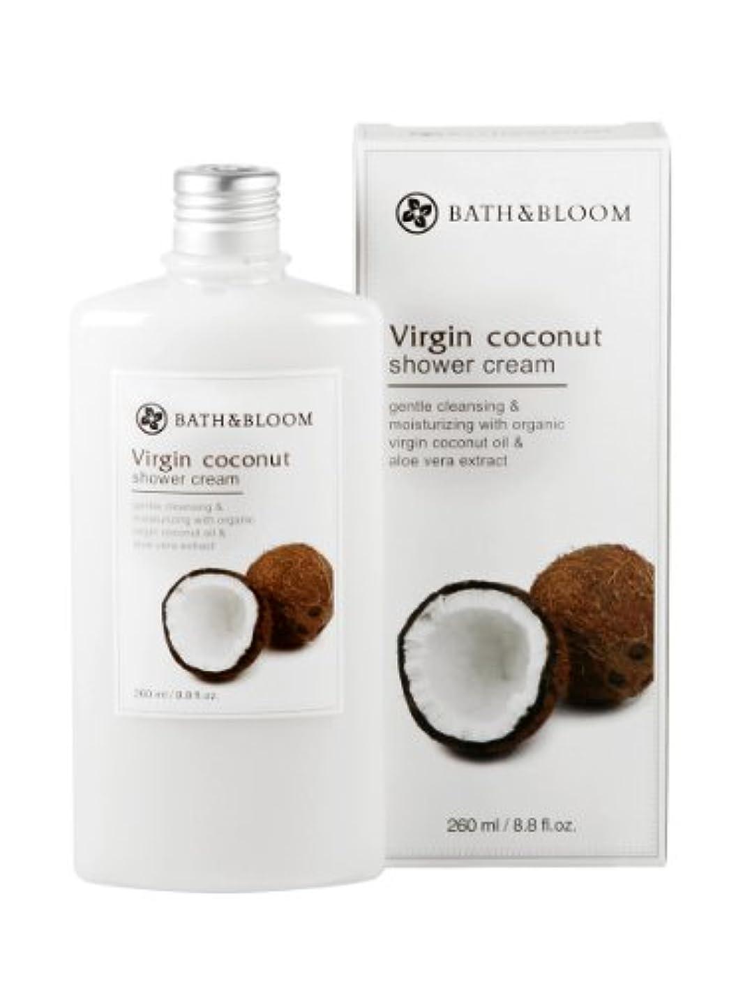 あなたが良くなります対処する消化器BATH&BLOOM ココナッツ シャワークリーム 260mL