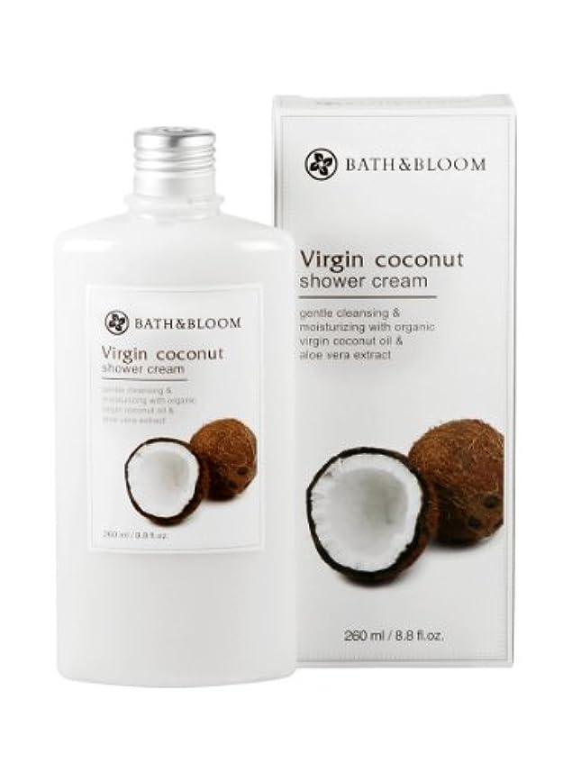 なぜなら寄付有料BATH&BLOOM ココナッツ シャワークリーム 260mL