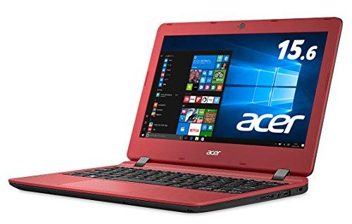 Acer ノートパソコン AspireES11 ES1-132-F14D/RF(レッド) Windows10/Celeron/11.6インチ/4GB/500GB/Microsoft Office搭載