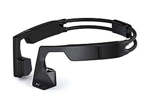 KSCAT 骨伝導 ヘッドホン Bluetooth 4.1 ワイヤレス ヘッドセット 高音質 apt-X搭載 CVCノイズキャンセリング技術 ハンズフリー IPX6 防水 サイクリング スポーツイヤホン NICE5 (ブラック)