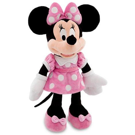Disney ディズニー Minnie Mouse Plush ミニーマウス ぬいぐるみ ピンク 19インチ 48cm