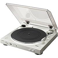 DENON アナログレコードプレーヤー USB録音機能/フルオート シルバー DP-200USB-SP