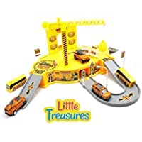 Construct Base Engineering - features a brilliant construction site model - for little boys and girls providing them with excellent experience of construction site world in a educational manner. [並行輸入品]