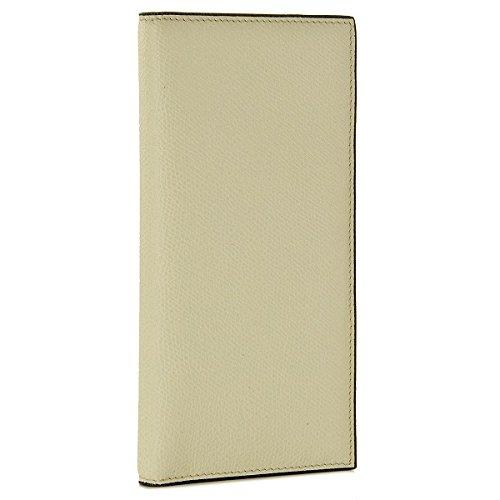 Valextra(ヴァレクストラ) 財布 メンズ グレインレザー 2つ折り長財布 ホワイト V8L21-028-000W[並行輸入品] [ウェア&シューズ]