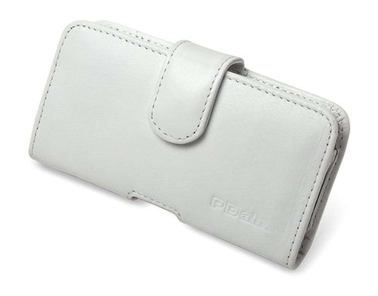 リットル物語ゲインセイミヤビックス PDAIR レザーケース for P-07C/Sweety SoftBank 003P ポーチタイプ(ホワイト) PALCP07CP/WH