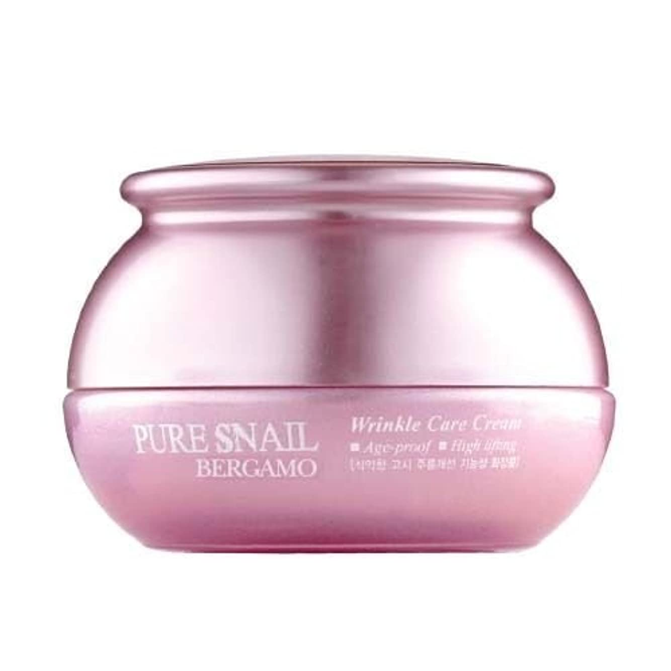ラッシュ次白雪姫ベルガモ[韓国コスメBergamo]Pure Snail Wrinkle Care Cream カタツムリリンクルケアクリーム50ml しわ管理 [並行輸入品]