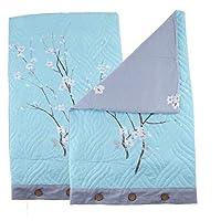 キルティング 枕カバー 2枚入 綿製 ピローケース 手触り良い コットン - スタイル9