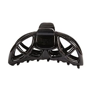 [キャラバン] Caravan グローバルデザインスリップ防止、防水非金属製 黒色髪留め、14.1g(0.5オンス) 94150