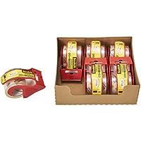3M スコッチ 梱包梱包用テープ 軽く引き出せるタイプ 48mm×20.3m 6巻パック 145DN-AM