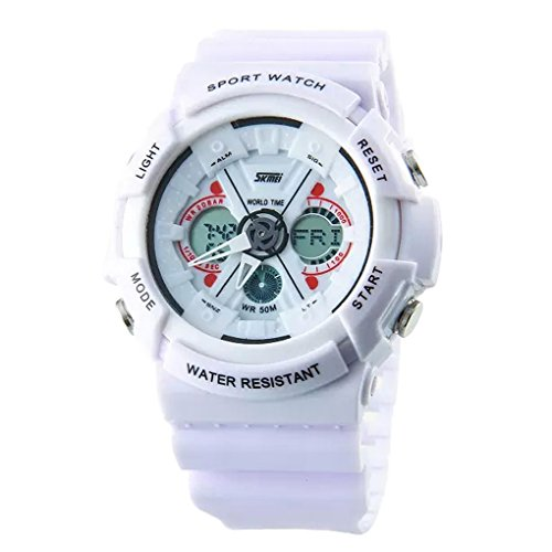 Smartstar 【SKMEI】 アウトドア 腕時計 登山 アウトドア 腕時計 防水 ファッション腕時計 スポーツウォッチ スポーツ用腕時計 ハンド時計 防水50m LEDライト