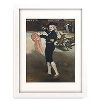 エドゥアール・マネ Edouard Manet 「Mademoiselle V… in the Costume of an Espada, 1862.」 額装アート作品