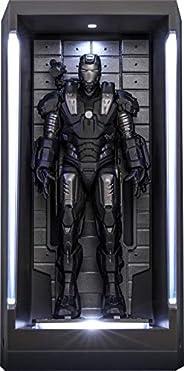 【ムービー・マスターピース COMPACT】『アイアンマン3』ミニチュア・フィギュア シリーズ2 ウォーマシン(ホール・オブ・アーマー付き)