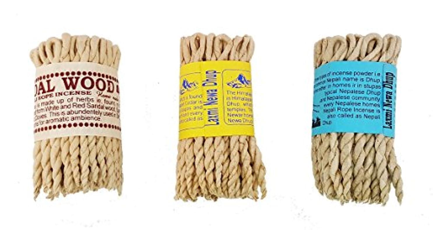 コメント古代お母さんネパール語Rope Incense Bundle of 3