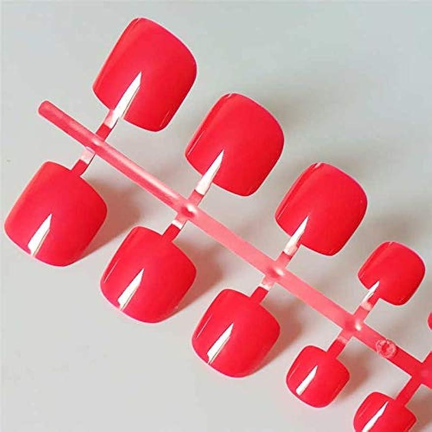 枠ひもラジカルXUTXZKA 人工的なキャンディーカラーの偽足指の爪の明るい緑色の偽足の広場プレス