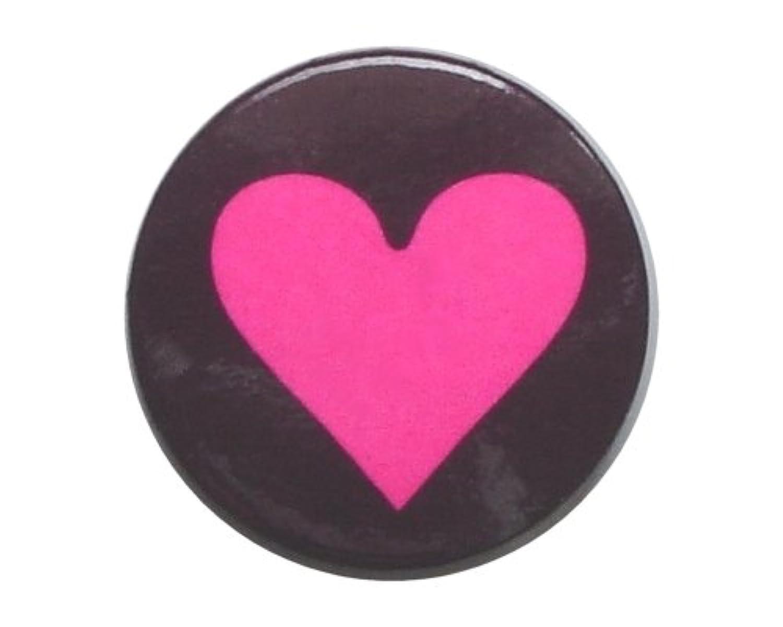 Big Heart PK 蛍光色?ビッグ ハートマーク 缶バッジ London ストリート マーケットからc280[イギリス直輸入]