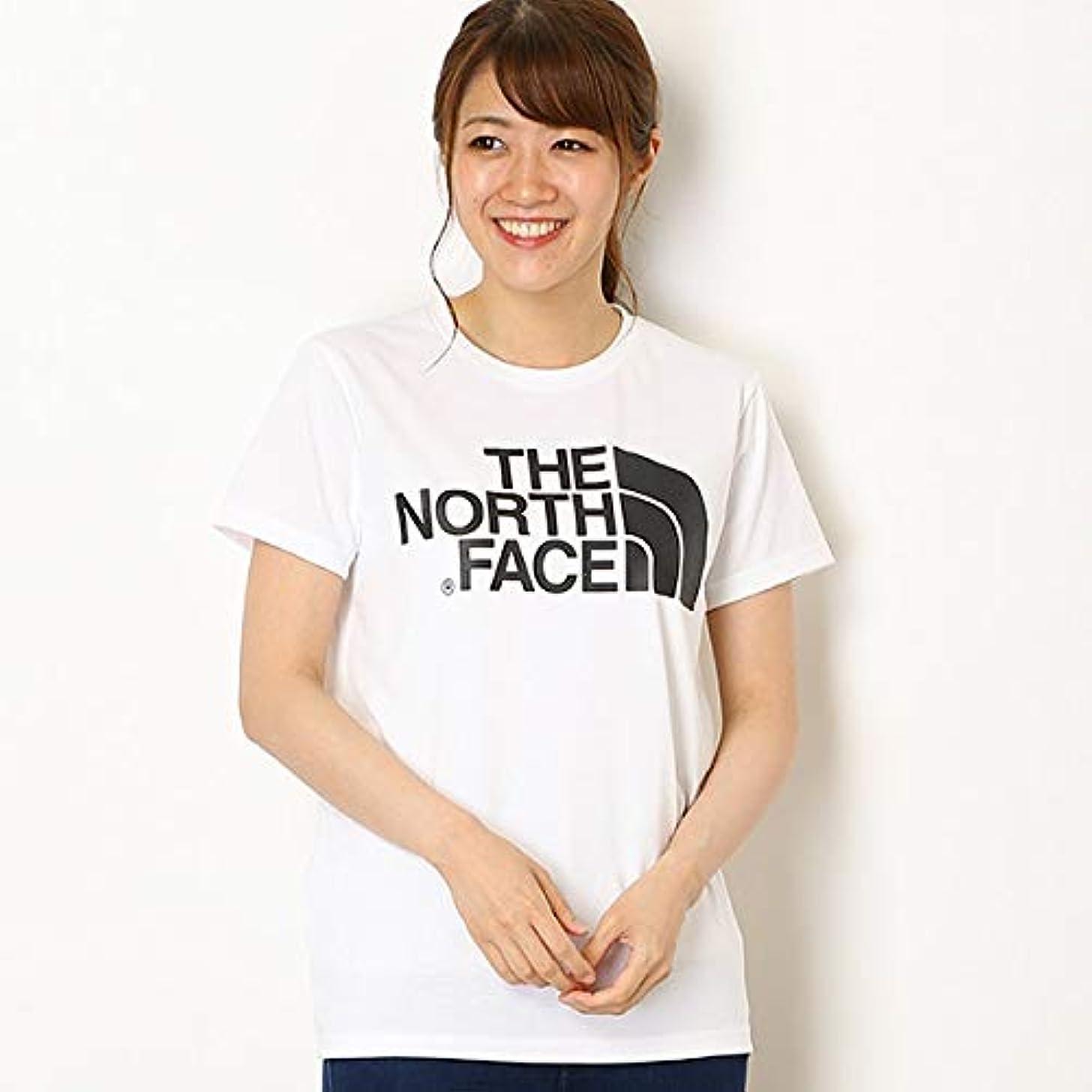 上院利用可能なるザ?ノース?フェイス(THE NORTH FACE) 【THE NORTH FACE】Tシャツ(レディース ショートスリーブシンプルロゴティー)