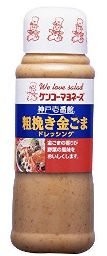 神戸サラダ壱番館 粗挽き金ごまドレッシング ボトル300ml