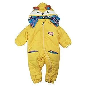 【梅春防寒】 CHILD CHAMP(チャイルド チャンプ) エステルピーチアニマル中綿入りジャンプスーツ 90cm /Y NO.C-86154561