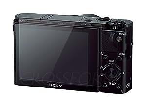 クロスフォレスト SONY RX100 V/RX100 IV/RX100 III/RX100 II/RX100/RX1/RX10/RX1R用ガラスフィルム 日本製ガラス使用 ラウンドエッジ Glass Film CF-GCSRX100 液晶保護フィルム