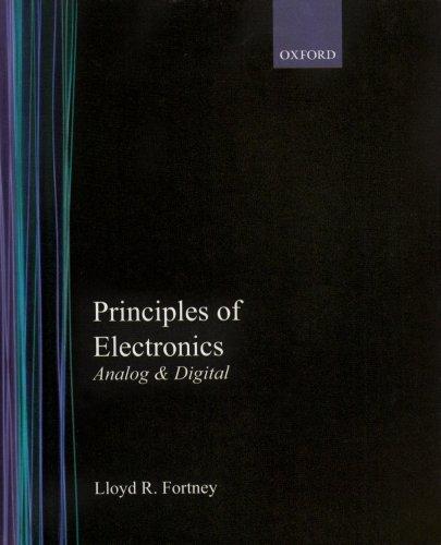 Download Principles of Electronics: Analog And Digital 0195178637