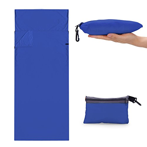 CYCLETRACK インナーシュラフ 寝袋 洗濯可能 210*70CM キャンプ アウトドア コンパクト収納