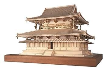 ウッディジョー 1/75 法隆寺 金堂 木製模型 組立キット