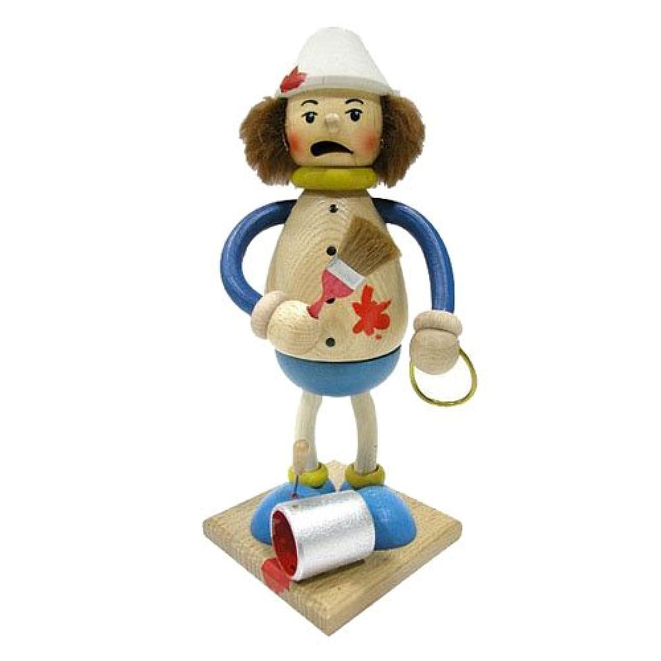 荒れ地抽出ちょっと待って39095 Kuhnert(クーネルト) ミニパイプ人形香炉 ペインター