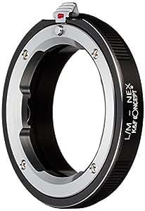 K&F Concept レンズマウントアダプター KF-LME (ライカMマウントレンズ → ソニーEマウント変換)