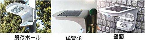 ソーラーLED・外灯・庭園灯・防犯灯ライト G-ELS-3Wシリーズ