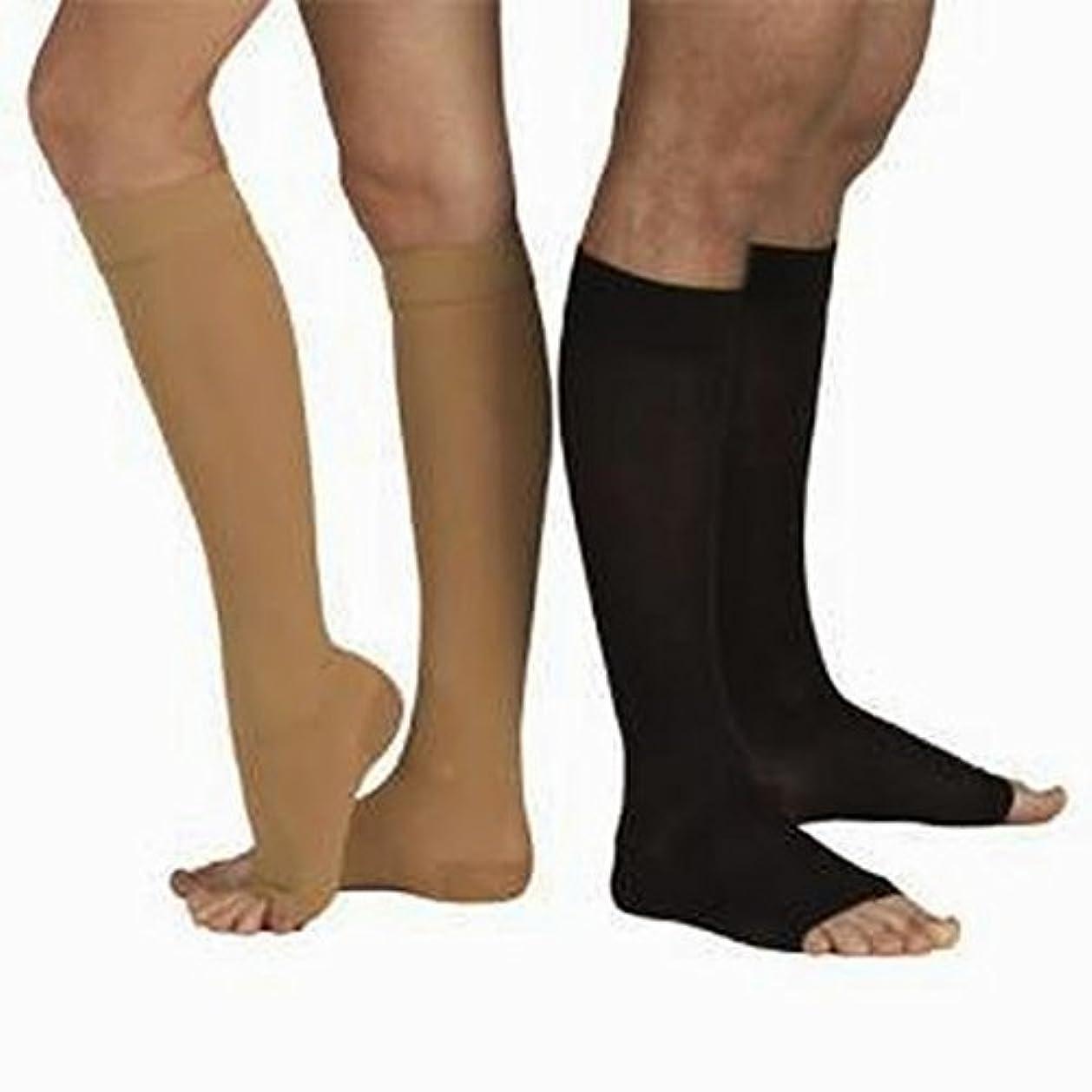 分夫婦ゴミTonus 18-21 mmHg (Moderate Grade Class I) Knee High Medical Compression Stockings with OPEN Toe, MODERATE Grade...