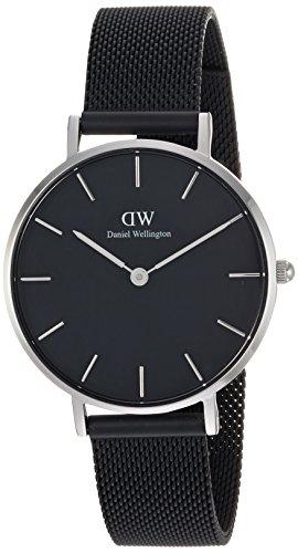 ダニエルウェリントン DANIEL WELLINGTON 腕時計 レディース クラッシックペティット アッシュフィールド シルバー 32mm DW00100202  正規輸入品