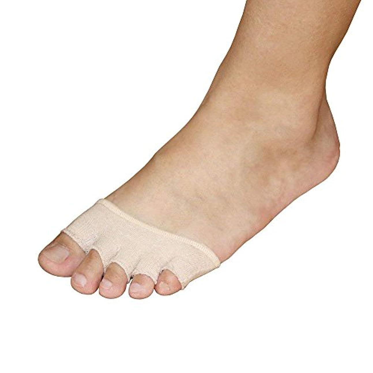 よく話される発行派生する2組のつま先靴下用女性表示なし、つま先スリーブ付きリリーフ痛みブリスター付きブーツクッションハイヒールスニーカーサンダル
