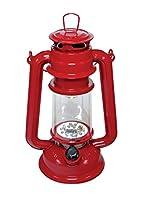 FL805-15RD LED赤ハリケーンランタン15電球