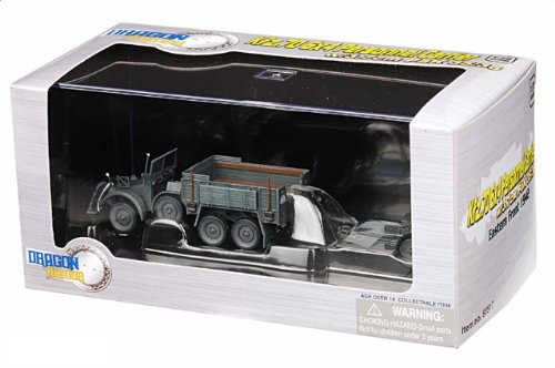 1:72 ドラゴンモデルズ アーマー コレクター シリーズ 60517 クルップ Kfz.70 Protze Truck ディスプレイ モデル ドイツ軍 イースタン フロント 1942 w/3.7cm
