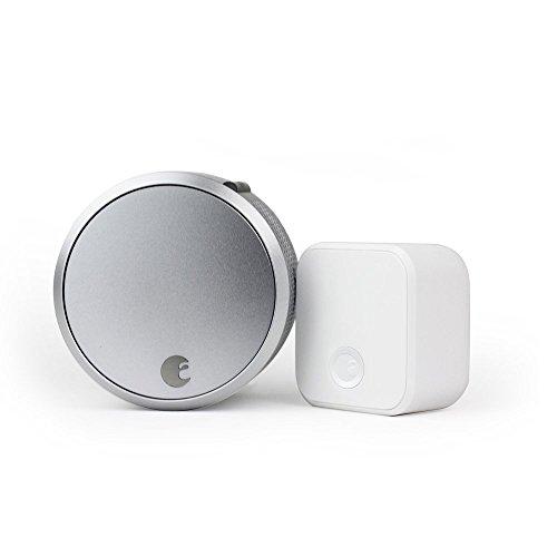 August Smart Lock Pro + Connect, 3rd gen AUG-SL03-C02-S03 スマートロックアロックアンドロイド、 iOSと互換性 [並行輸入品]