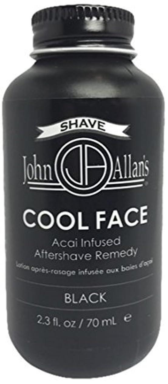 最少ロッカー電気的John Allan's Cool Face- After Shave Remedy White 2 fl. oz. [並行輸入品]
