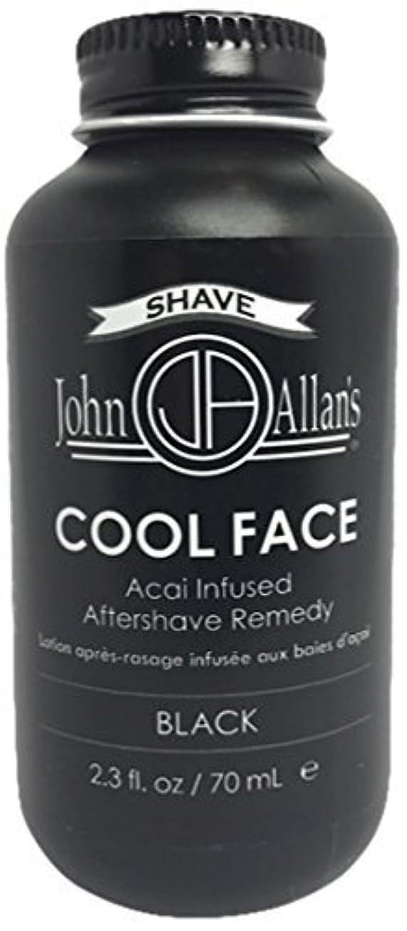 展示会生獣John Allan's Cool Face- After Shave Remedy White 2 fl. oz. [並行輸入品]