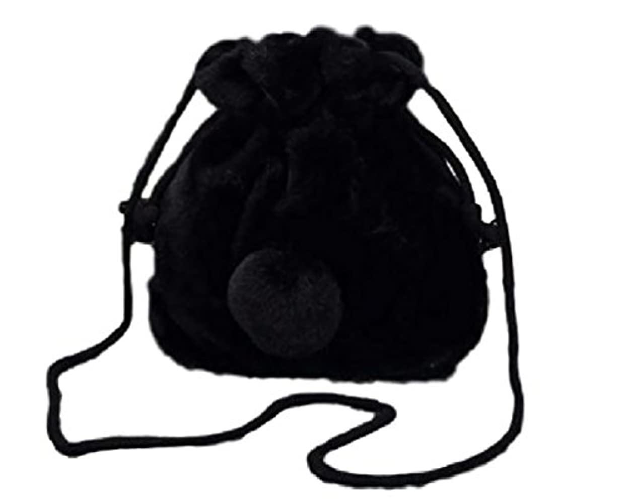 被るアフリカ人アセンブリ[ルビタス] うさぎ 風 メイク 化粧 コスメ 小型 ポーチ バック バッグ ケース ボックス 巾着