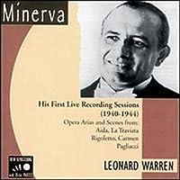 Leonard Warren - His First Recording Sessions 1940-1944