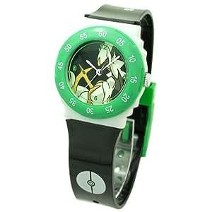 [ポケットモンスター]Poket Monster 腕時計 カラフルバンドウォッチ アルセウス PK10044 ブラック PK10044 ボーイズ []