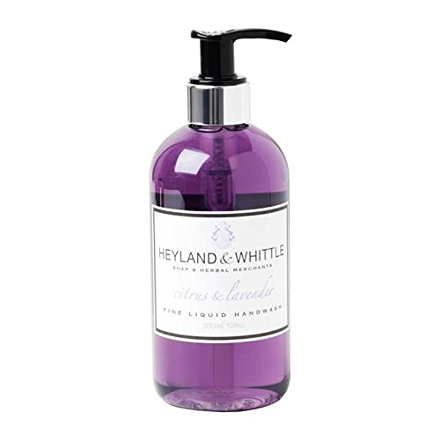 見つけた腹痛コンサルタント&削るシトラス&ラベンダー手洗いの300ミリリットル x4 - Heyland & Whittle Citrus & Lavender Handwash 300ml (Pack of 4) [並行輸入品]