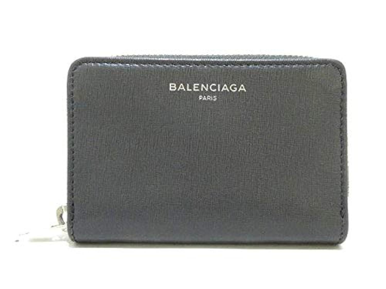 (バレンシアガ) BALENCIAGA コインケース ダークグレー 452503 【中古】