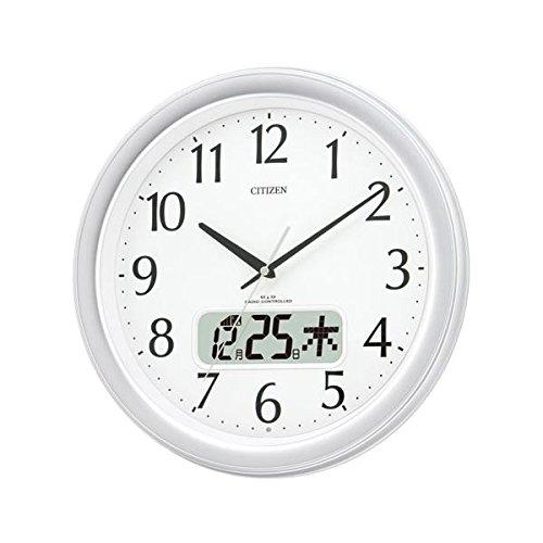リズム時計 シチズン電波掛時計 4FYA02-019 ds-...
