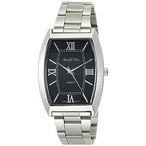 [アリアス]ALIAS 腕時計 アナログ アマルフィ 3気圧防水 ブレスレット ブラック A35M08 メンズ