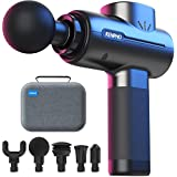 RENPHO Massage Gun Deep Tissue, Portable Massager Gun Deep Tissue Weighted Only 1.5lbs, Handheld Percussion Massage Gun Muscle for Home Gym Office Post-Workout Recovery Soreness Relief