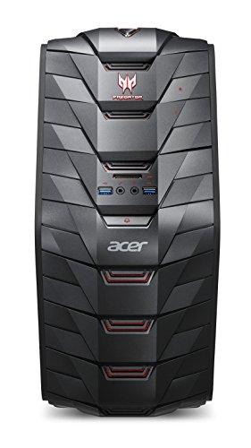 Acer デスクトップ Predator G3 G3-710-H58G/G (Core i5-7400/8GB/128GB SSD+1TB HDD/DVD±R/RW ドライブ/Windows10)