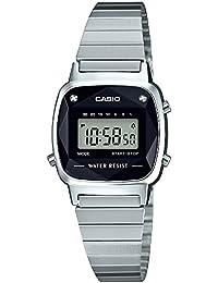 [カシオ]CASIO 腕時計 スタンダード 天然 ダイヤモンド 付 LA670WAD-1JF レディース