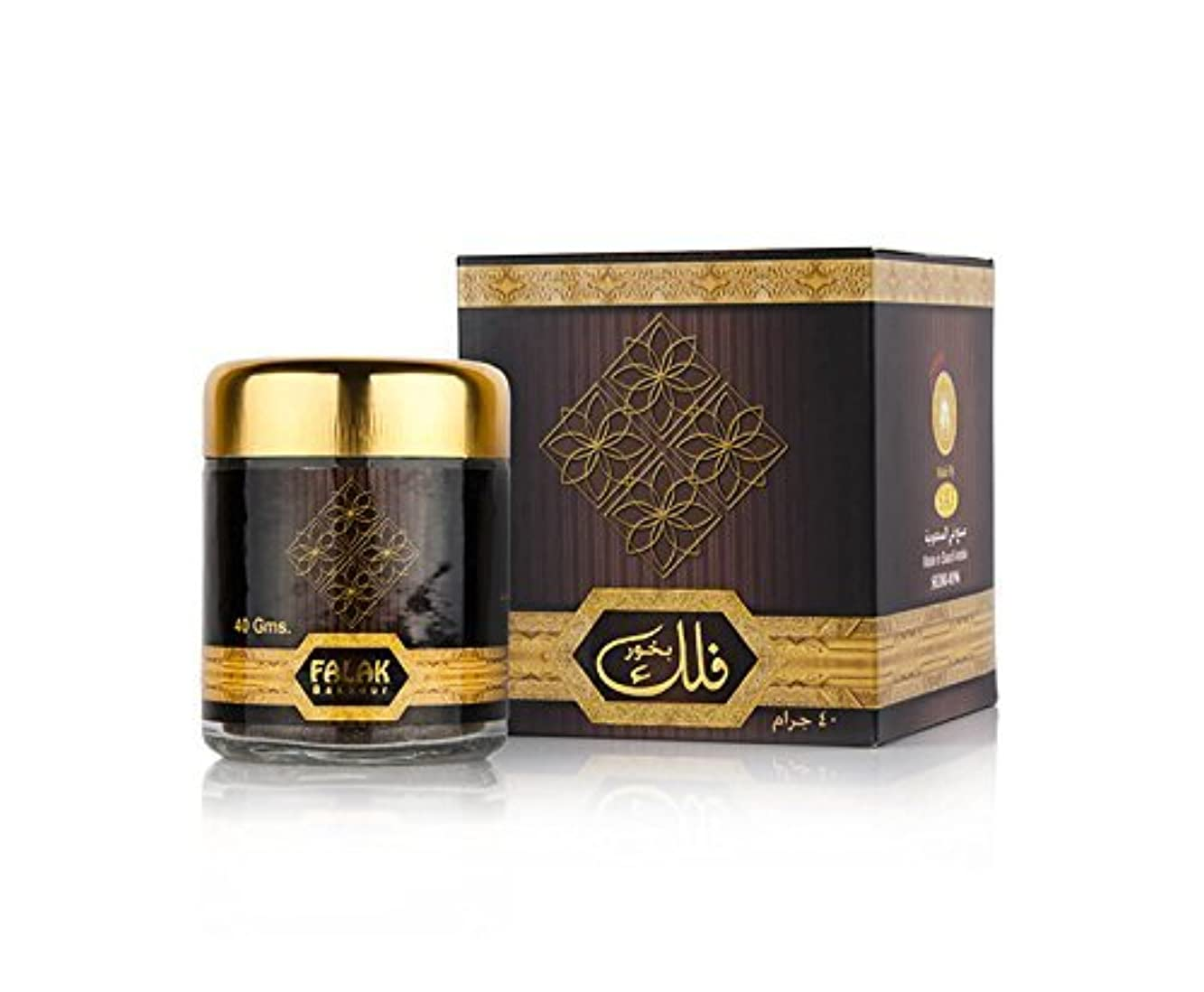 雪の木毎月Falak Oudh Bakhour 40 g / Incense Bakhoor Home Fragrance sedr al Khaleej